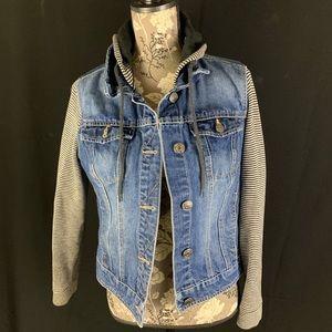 Wallflower Denim and Knit Jacket